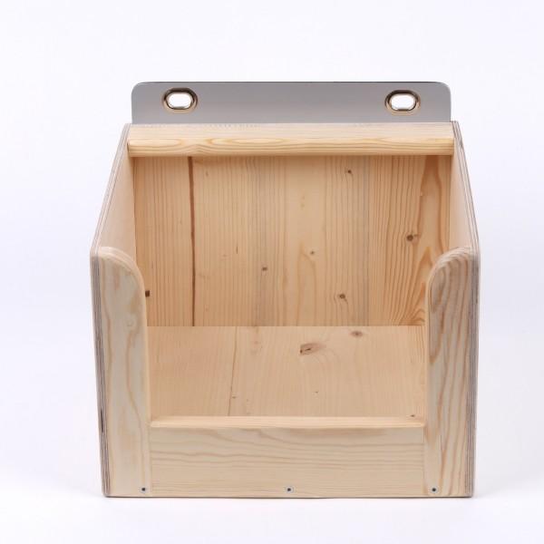 Legenest aus Holz
