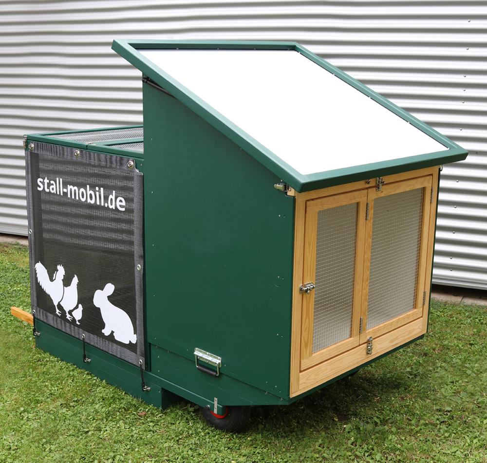 STM-100-K für Kaninchen | HOME FARMING mit stall-mobil.de